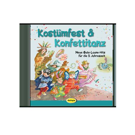 Kostümfest & Konfettitanz CD - Musicus